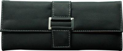 Meridian Women Formal Black Artificial Leather Wallet