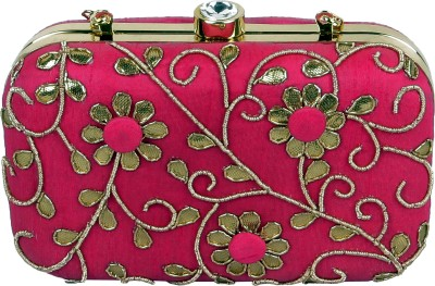 Lizzie Casual, Festive, Formal, Party, Sports, Wedding Pink  Clutch