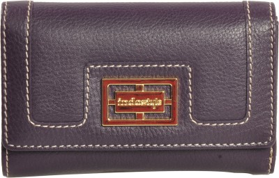Indostyle Women Casual Purple  Clutch