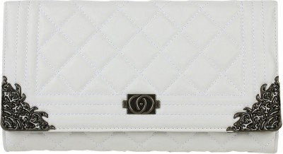Aadi And Sons Women Casual White  Clutch
