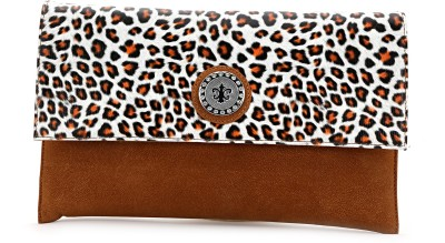 Elligator Women Party Brown  Clutch