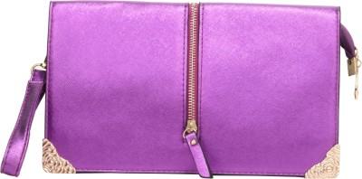 dazzler Casual, Party, Festive Purple  Clutch