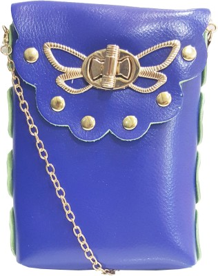 RaviCollections Casual Blue  Clutch