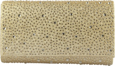 Stylehoops Party Gold  Clutch