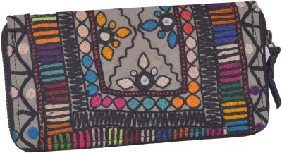 Jaipur Textiles Hub Women Party Black  Clutch