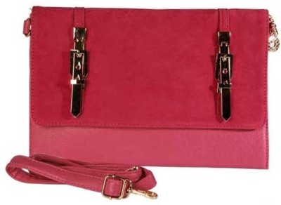 Young & Forever Women Casual, Party, Wedding Pink  Clutch