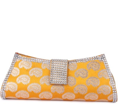 D AUSTIN KING Party, Formal Yellow  Clutch