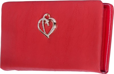 NAAZ BAGS COLLECTION Red  Clutch