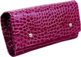 Purseonality Women Purple  Clutch