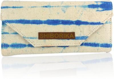 Shiborika Women Casual Blue  Clutch