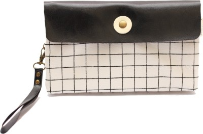 Languo Casual White  Clutch