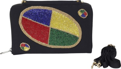 Vdesi Women Casual, Party, Formal, Festive, Wedding Black, Red, Blue, Green, Yellow, Gold  Clutch