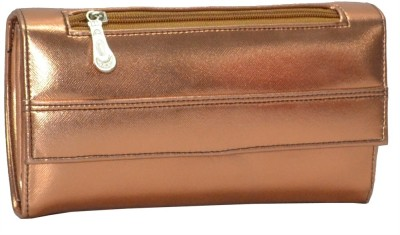 Utsukushii Casual, Wedding, Party Brown  Clutch