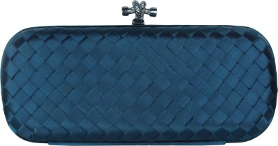 Shoebox Women Party Blue  Clutch