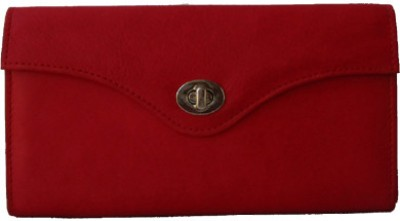 Klaska Women Casual Red  Clutch
