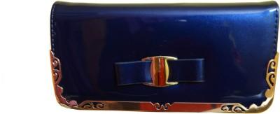 Glambing Women Casual Blue  Clutch