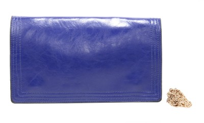 Luxury Living Casual, Party, Festive Blue  Clutch