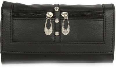 Acute Casual Black  Clutch