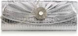 Yepme Women Casual Silver  Clutch