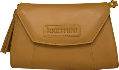 Kethini Women Casual Brown  Clutch