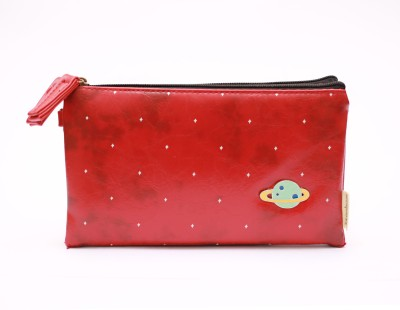 Languo Casual Maroon  Clutch