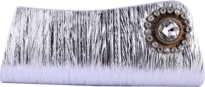 Angelfish Girls Party Silver  Clutch