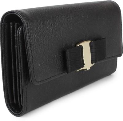Amatra Girls, Women Black Artificial Leather Wallet