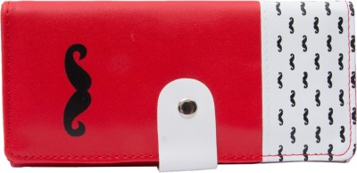 MARK LOUIS Casual Red, White  Clutch