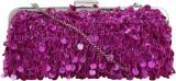 Nandeetas Women Party Pink  Clutch