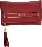 Kazo Women Casual Red  Clutch