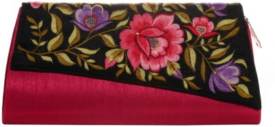 Soulful Threads Party Pink  Clutch