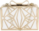 PamperVille Women Party White  Clutch