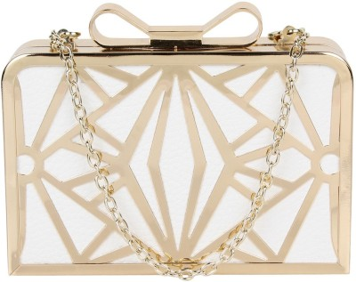 PamperVille Party White  Clutch