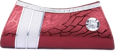D AUSTIN KING Party, Formal Maroon  Clutch