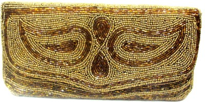 Sunita Fashion Wedding, Festive Gold  Clutch