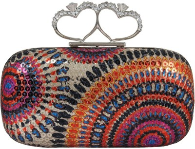 PamperVille Party Multicolor  Clutch