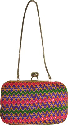 Balee Fashions Women Party Multicolor  Clutch
