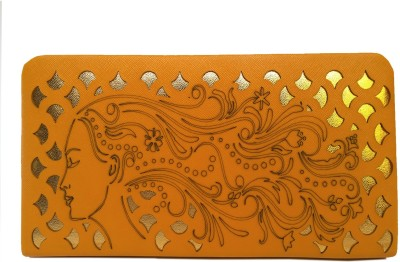 Ashley Party Yellow  Clutch