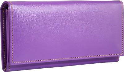 Contrast Casual Purple  Clutch