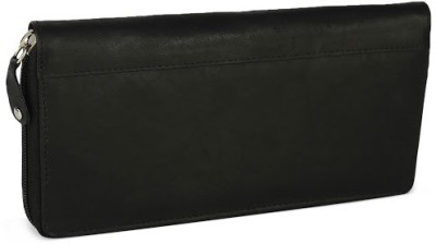 League Leather Casual Black  Clutch
