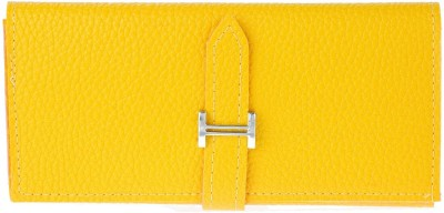 iva Casual, Formal Yellow  Clutch
