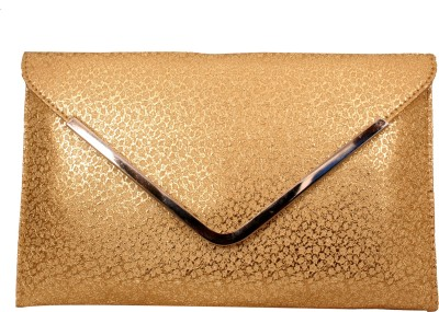 Aaa Store Women Party Gold  Clutch