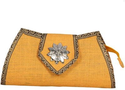 Lukluck Girls, Women Wedding, Casual, Party, Formal Yellow  Clutch