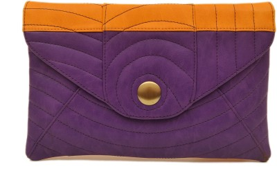 SG Collection Women Casual Purple  Clutch