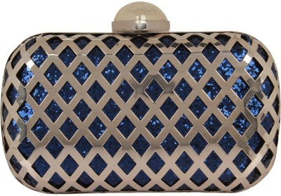 PamperVille Party Blue  Clutch
