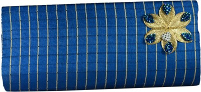 Arisha kreation Co Women Casual Blue  Clutch