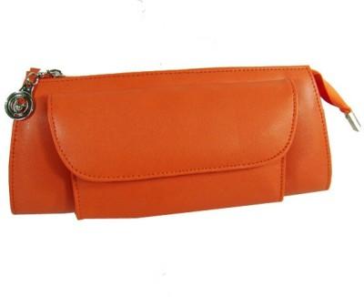 Essart Women Casual Orange  Clutch