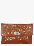 Dice Women Party Brown  Clutch
