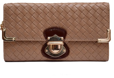 Tanishka Exports Brown  Clutch