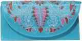 Slice Of Bengal Women Blue  Clutch